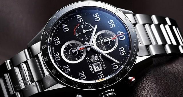 タグホイヤー カレラ 買取相場 クロノグラフ 3針 時計 高く 売れる